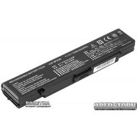 Аккумулятор PowerPlant для Sony Vaio VGN-CR20 Black (11.1V/5200mAh/6Cells) (NB00000137)