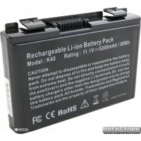 Аккумулятор ExtraDigital для ноутбуков Asus K40 A32-F82 (11.1V/5200mAh/6Cells) Black (BNA3927)