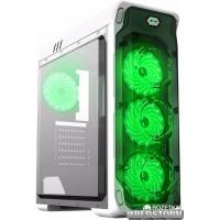 Корпус Gamemax StarLight W-Green