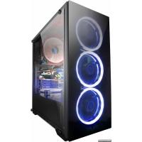 Корпус Frime Wanda Blue LED (Wanda-U3-GLS-4BDRF)