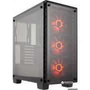 Корпус Corsair Crystal 460X RGB Black (CC-9011101-WW)