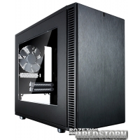 Корпус Fractal Design Define Nano S Window Black (FD-CA-DEF-NANO-S-BK-W)