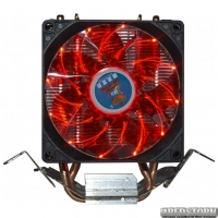 Кулер Cooling Baby R90 Red Led