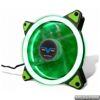 Кулер Frime Iris LED Fan Double Ring Green (FLF-HB120GDR)