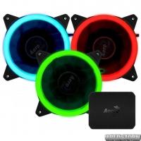 Комплект кулеров Aerocool Rev RGB Pro c контроллером P7-H1 (Rev RGB Pro)