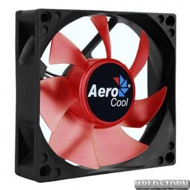 Вентилятор Aerocool Motion 8 Red LED 80мм, 3-pin