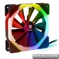 Кулер для корпуса Vinga RGB fan-04