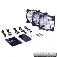Кулер Cooler Master MasterFan Pro 120 Air Flow RGB 3 in 1 With RGB LED Controller (MFY-F2DC-113PC-R1)