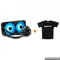 Система жидкостного охлаждения DeepCool GAMMAXX L240 + футболка DeepCool в подарок!