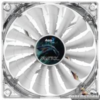Кулер Aerocool Shark Fan 120 мм White LED