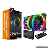 Набор Cougar RGB-вентиляторов HPB RGB Cooling Kit