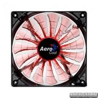 Вентилятор Aerocool Shark Fan Evil Black/Orange LED Retail 120мм