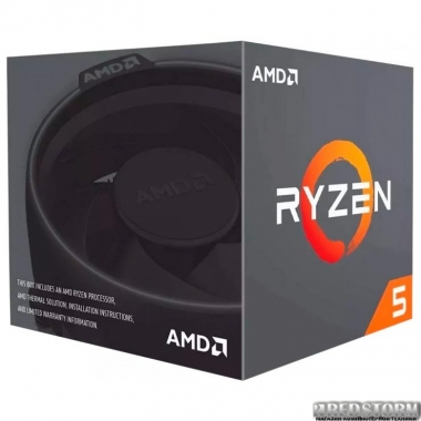 Процессор AMD Ryzen 5 1600 3.2GHz/16MB (YD1600BBAFBOX) sAM4 BOX