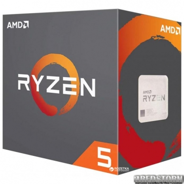 Процессор AMD Ryzen 5 1600 3.2GHz/16MB (YD1600BBAEBOX) sAM4 BOX