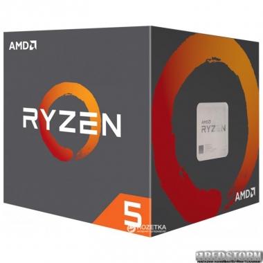 Процессор AMD Ryzen 5 2600 3.4GHz/16MB (YD2600BBAFBOX) sAM4 BOX