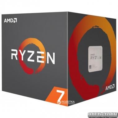 Процессор AMD Ryzen 7 2700X 3.7GHz/16MB (YD270XBGAFBOX) sAM4 BOX