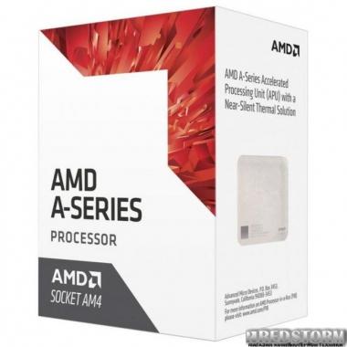 Процессор AMD Bristol Ridge A6-9400 3.5GHz/1MB (AD9400AGABBOX) AM4 BOX