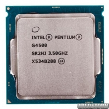 Процессор Intel Pentium G4500 3.5GHz (3mb, Skylake, 51W, S1151) Tray (CM8066201927319)