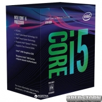 Процессор Intel Core i5-8600 3.1GHz/8GT/s/9MB (BX80684I58600) s1151 BOX