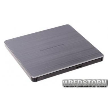 Привод H-L Data Storage DVD±R USB 2.0 Silver (GP60NS60)
