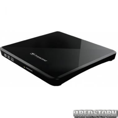 Привод Transcend DVD±RW TS8XDVDS-K External USB 2.0 Black Retail