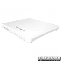 Transcend DVD±RW TS8XDVDS-W USB 2.0 External Ultra Slim White Retail