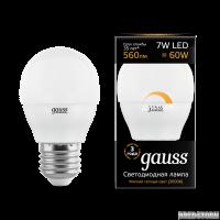 Лампа Gauss LED Globe dimmable