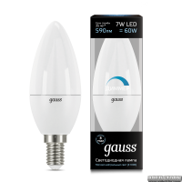 Лампа Gauss LED Candle dimmable