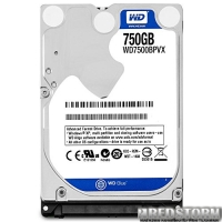 "Western Digital Blue 750GB 5400rpm 8MB WD7500BPVX 2.5"" SATA III"