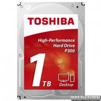 Toshiba P300 1TB 7200rpm 64MB HDWD110UZSVA 3.5 SATA III