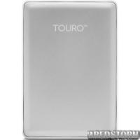 "Hitachi (HGST) Touro S 1TB 7200rpm HTOSEA10001BDB_0S03730 2.5"" USB 3.0 External Silver"