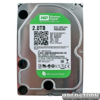Western Digital Green 2TB 5400rpm 64МB WD20EZRX 3.5 SATA III