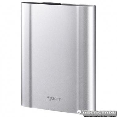 "Жесткий диск Apacer AC730 2TB 5400rpm 8MB AP2TBAC730S-1 2.5"" USB 3.1 External Silver"