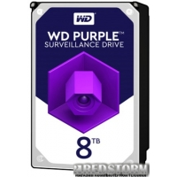 "Жесткий диск Western Digital Purple 8TB 256MB 7200rpm WD82PURZ 3.5"" SATA III"