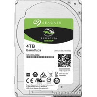 Seagate BarraCuda HDD 4TB 5400rpm 128MB ST4000LM024 2.5 SATA III