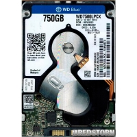 Western Digital Blue 750GB 5400rpm 16MB WD7500LPCX 2.5 SATA III