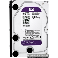 Western Digital Purple 2TB 64MB WD20PURX 3.5 SATA III