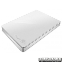 Seagate Backup Plus Portable 2TB STDR2000408 2.5 USB 3.0 External White + Rescue