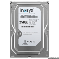 Жесткий диск i.norys 250GB 7200rpm 8MB INO-IHDD0250S2-D1-7208 3.5 SATAII