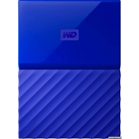 Жесткий диск Western Digital My Passport 4TB WDBYFT0040BBL-WESN 2.5 USB 3.0 External Blue