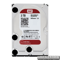 Western Digital Red 3TB 5400rpm 64MB WD30EFRX 3.5 SATA III