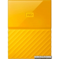 Western Digital My Passport 4TB WDBYFT0040BYL-WESN 2.5 USB 3.0 External Yellow