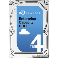 "Жесткий диск Seagate Enterprise Capacity 4TB 7200rpm 128MB ST4000NM0115 3.5"" 512e SATA III"