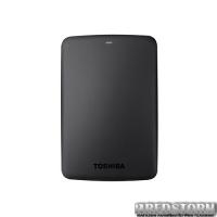 """Toshiba Canvio Basics Storejet 1TB HDTB310EK3AA 2.5"""" USB 3.0 External Black"""