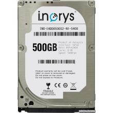 i.norys 500GB INO-IHDD0500S2-N1-5408 5400rpm 8MB 2.5 SATA II