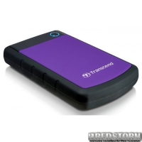 Transcend StoreJet 25H3P 3TB 5400rpm 8MB TS3TSJ25H3P 2.5 USB 3.0 External Purple