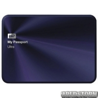 Western Digital My Passport Ultra Metal 1TB WDBTYH0010BBA-EESN 2.5 USB 3.0 External Blue