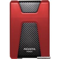 "Жесткий диск ADATA DashDrive Durable HD650 1TB AHD650-1TU31-CRD 2.5"" USB 3.1 External Red"