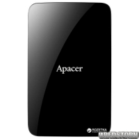 """Apacer AC233 3TB 5400rpm 8MB AP3TBAC233B-S 2.5"""" USB 3.0 External Black"""