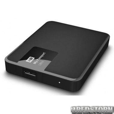 Жесткий диск Western Digital My Passport Ultra 1TB WDBGPU0010BBK-EESN 2.5 USB 3.0 Black